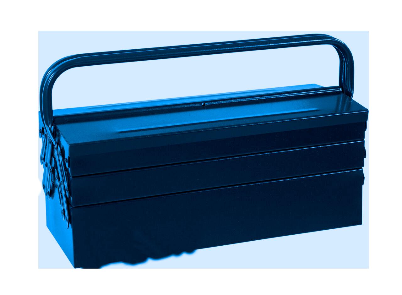 100ABAS – Caixa Basic Sanfonada, 400mm, com 5 Gavetas