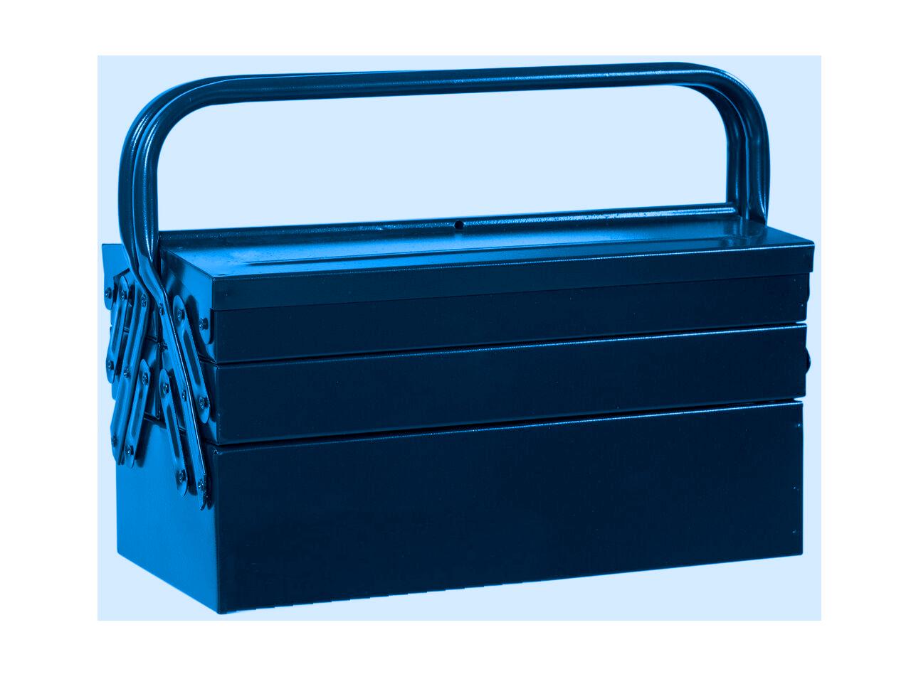 100BAS – Caixa Basic Sanfonada, 500mm, com 5 Gavetas