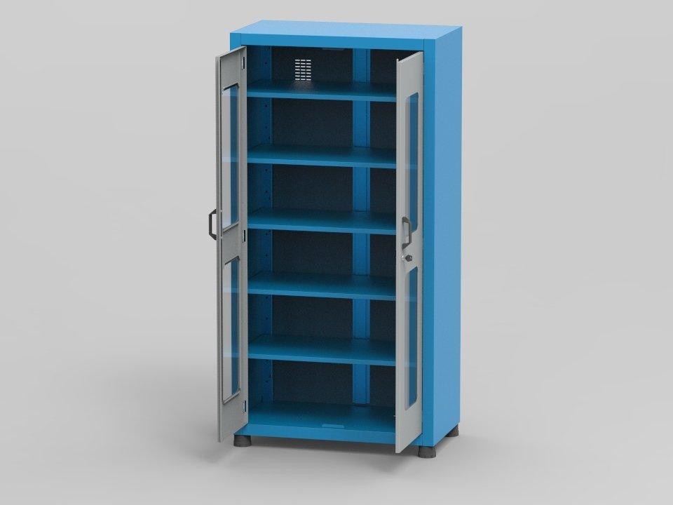 armario-industrial/arm-020-4-prateleiras-regulaveis-portas-com-visor-vidro
