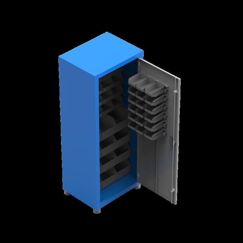 ARM040 – Armário Para Ferramentas com 50 Gavetas Organizadoras Bin
