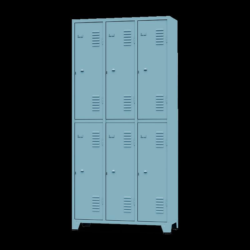 ROUP007 – Armário Roupeiro com 6 Portas Grandes