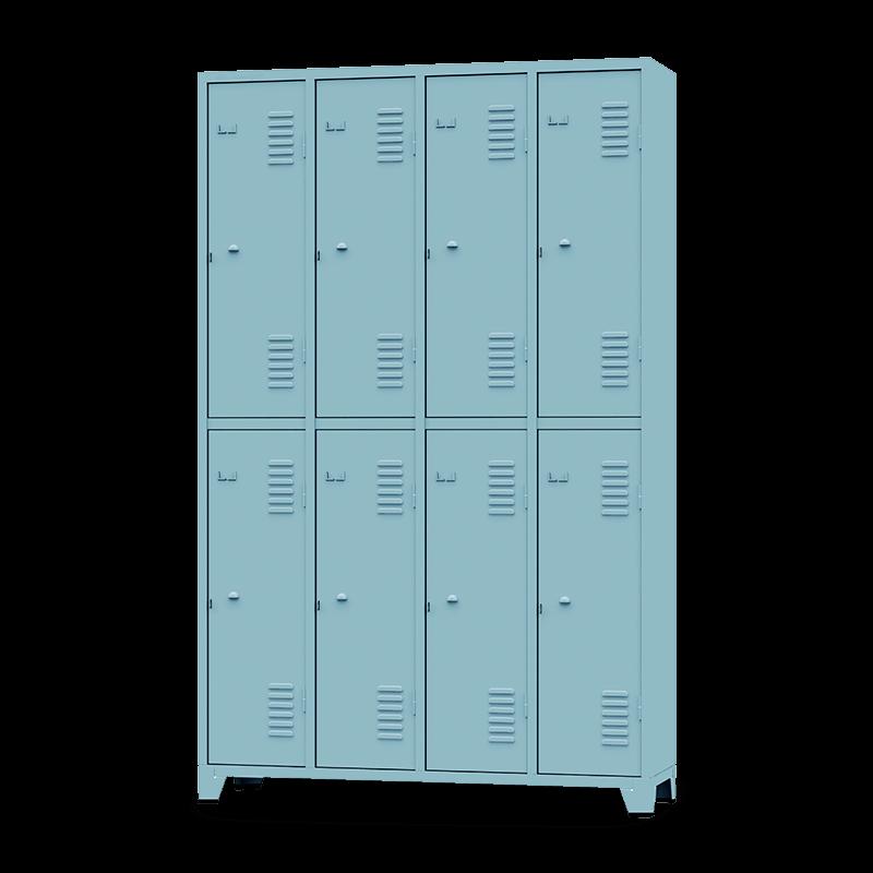 ROUP008 – Armário Roupeiro com 8 Portas Grandes
