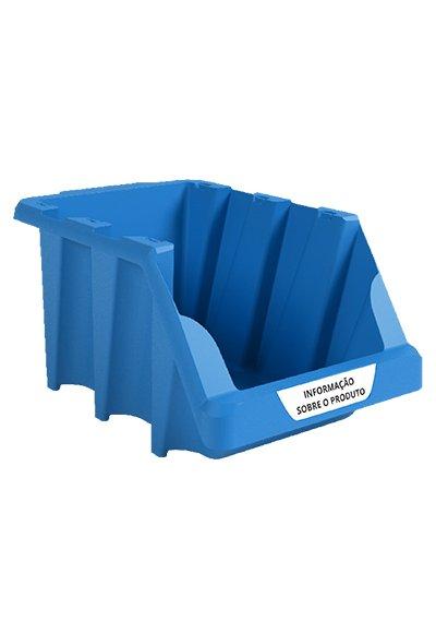 BIN03A – Gaveta Plástica Bin Nº 03 Azul