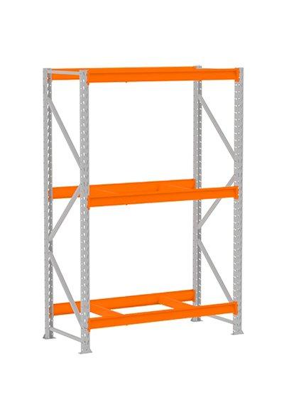 MPP003 – Mini Porta Pallet Inicial 800x1200x2000 C/3 Longarinas S/Bandeja