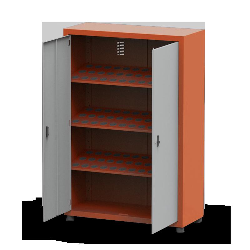 ARM050 – Armário Porta Cone ISO30 para 108 peças com 3 prateleiras