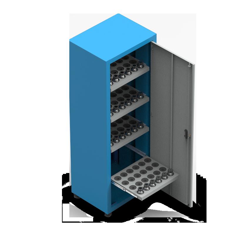 ARM058 – Armário Porta Cone ISO40 para 80 peças com 4 prateleiras