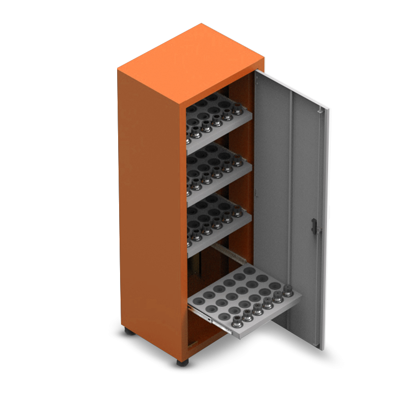 ARM056 – Armário Porta Cone ISO30 para 96 peças com 4 prateleiras