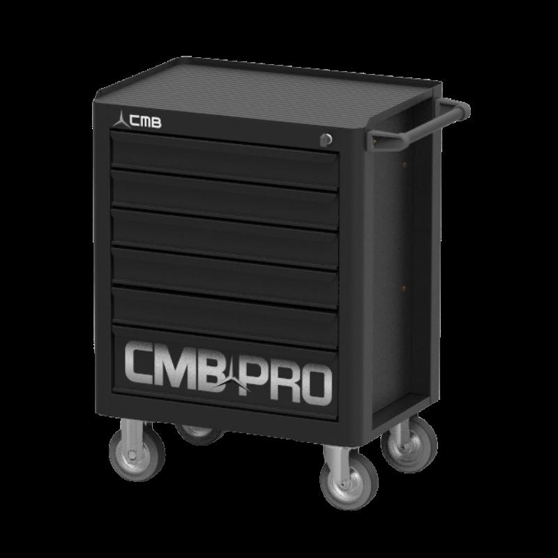 CMBPRO101MINI – Carrinho para Ferramenta com 6 gavetas e Sistema Antitombamento